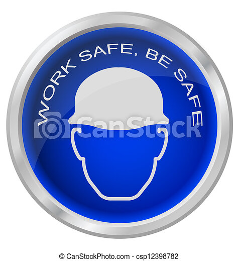 工作, 是, 安全 - csp12398782