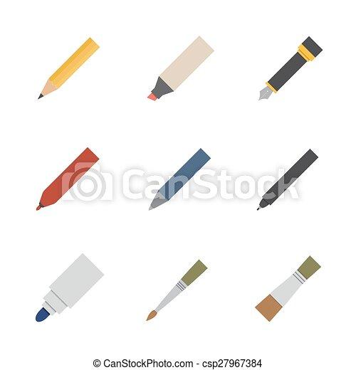 工具, 作品, 图, 图标 - csp27967384