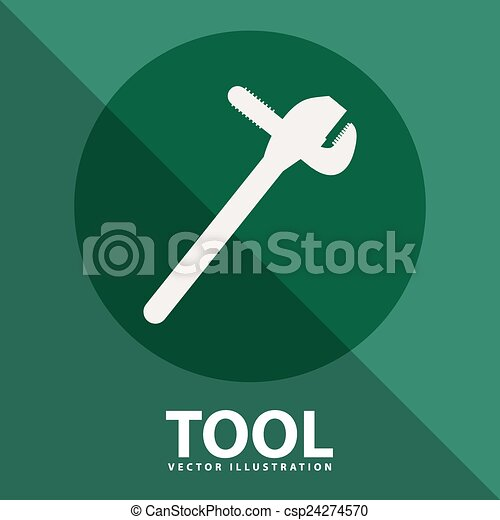 工具, 图标 - csp24274570