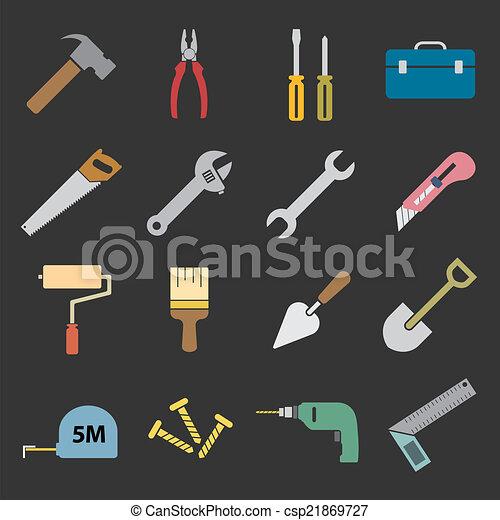 工具, 图标 - csp21869727