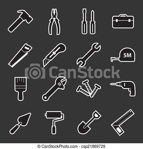 工具, 图标 - csp21869729