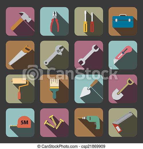 工具, 图标 - csp21869909