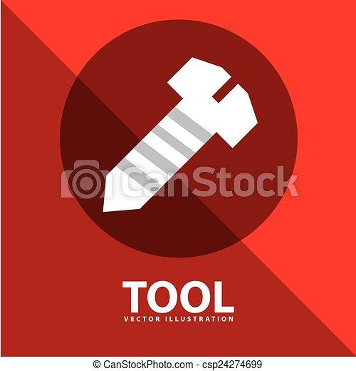 工具, 图标 - csp24274699