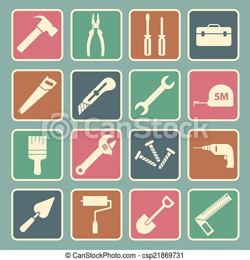 工具, 图标 - csp21869731
