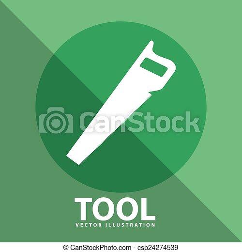 工具, 图标 - csp24274539