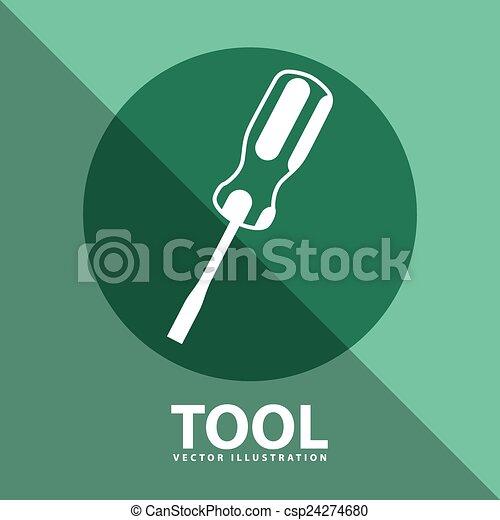 工具, 图标 - csp24274680