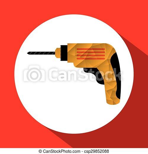 工具, 图标 - csp29852088