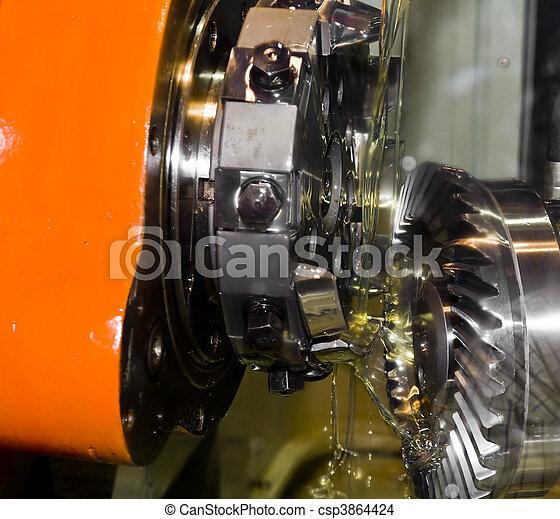 工具, 機器, cnc - csp3864424