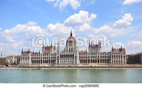 布達佩斯, 議會 - csp25965885