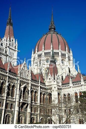 布達佩斯, 議會 - csp4503731