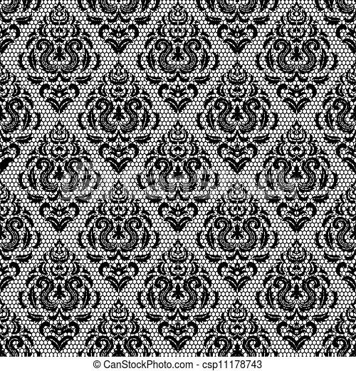 带子, 模式, 植物群 - csp11178743