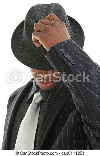 帽子, ビジネス男 - csp0111251
