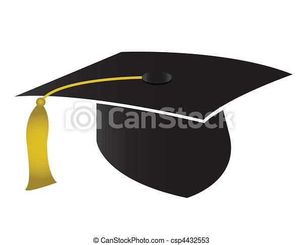 帽子, 卒業 - csp4432553