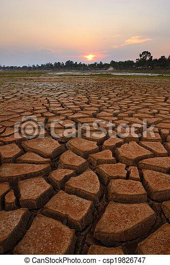 干ばつ, 土地 - csp19826747