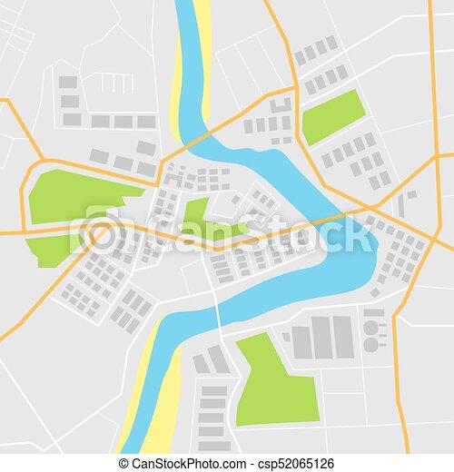 平ら ベクトル イラスト 地図 平ら 地図 イラスト ベクトル 道 川
