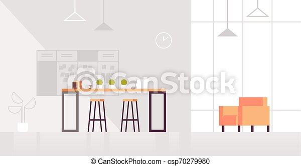平ら, 中心, オフィス, 区域, 現代 同世代の人, 創造的, ラウンジ, 内部, co-working, 横 - csp70279980
