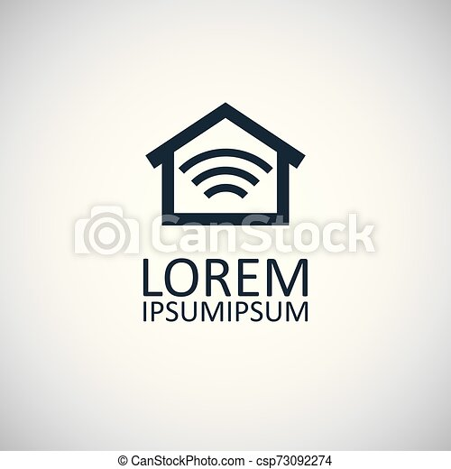 平ら, 概念, 単純である, 要素, デザイン, 家, 痛みなさい, アイコン - csp73092274