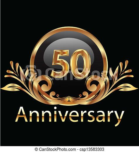 年, birthday, 記念日, 50 - csp13583303