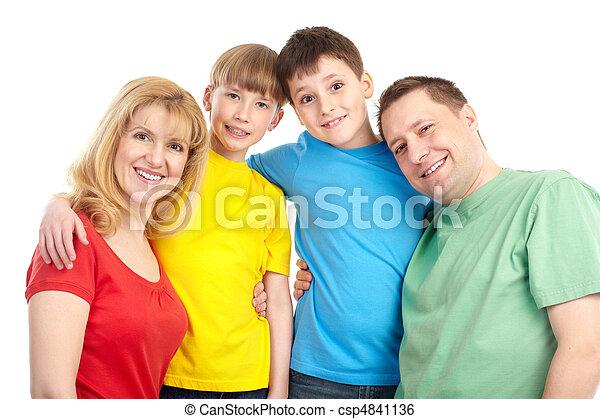 幸せな家族 - csp4841136