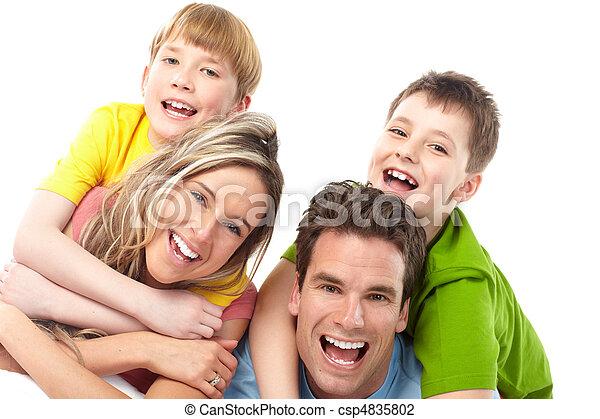 幸せな家族 - csp4835802