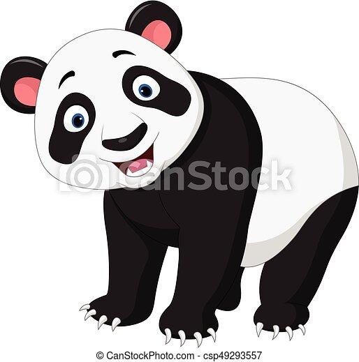 幸せ, パンダ, 漫画 - csp49293557