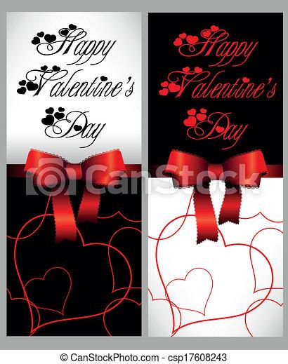 幸せ, 日, バレンタイン - csp17608243