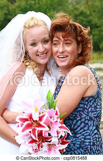 幸せ, 日, 結婚式 - csp0815488