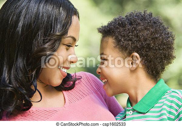 幸せ, son., 母 - csp1602533