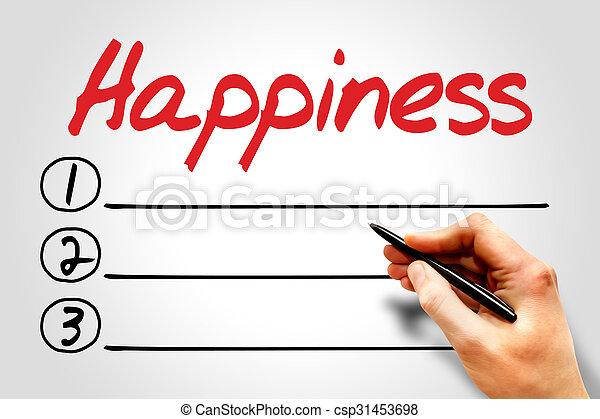 幸福 - csp31453698