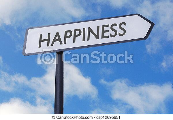 幸福, 印 - csp12695651