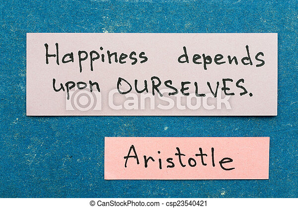 幸福, depends - csp23540421