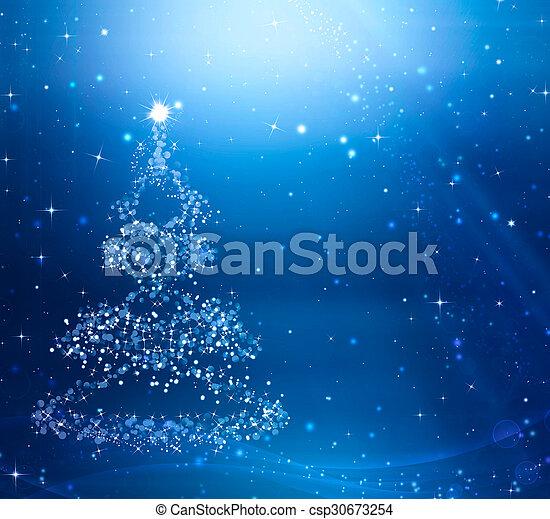 幻想, 聖誕節, 背景, 喜慶 - csp30673254