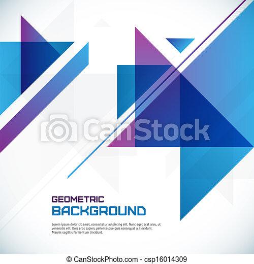 幾何学的, 抽象的, 背景 - csp16014309