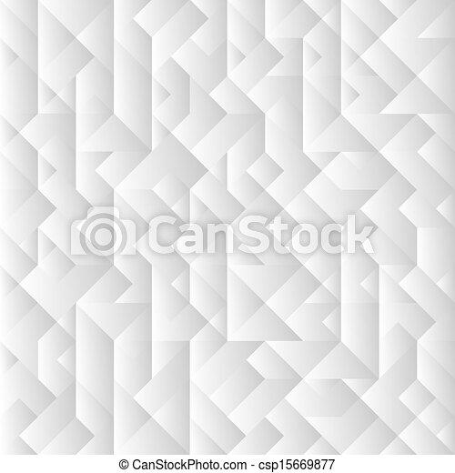 幾何学的, 灰色, 背景, 3d - csp15669877
