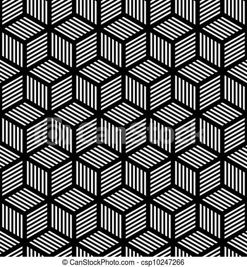 幾何学的, 芸術, seamless, 手ざわり, オペ - csp10247266
