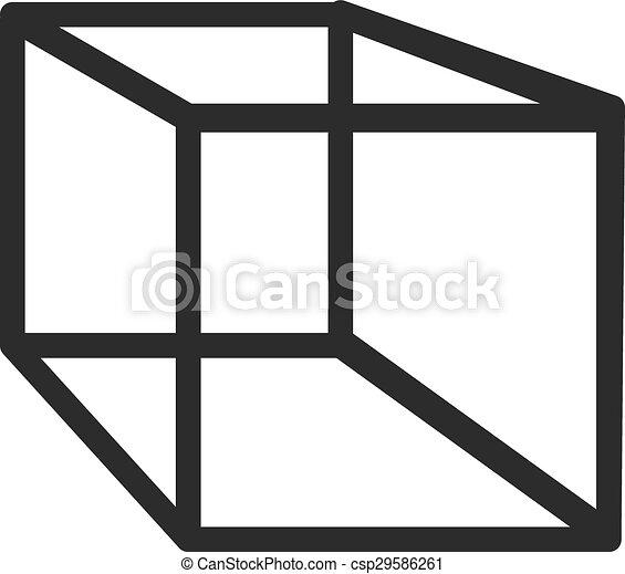 幾何学, 立方体 - csp29586261