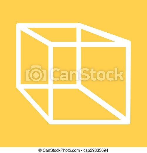 幾何学, 立方体 - csp29835694