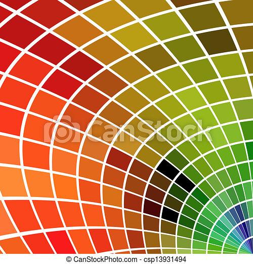 広場, いいえ, effects., バックグラウンド。, 多色刷り, gradients, ∥あるいは∥, モザイク - csp13931494
