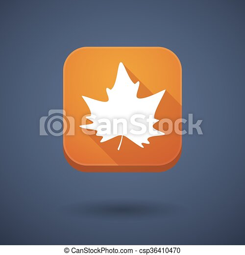 広場, 葉, ボタン, 木, 長い間, 秋, 影, app - csp36410470