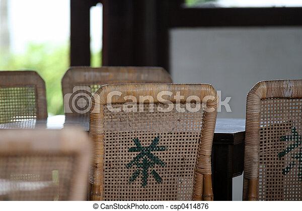 店, お茶, 中国語 - csp0414876