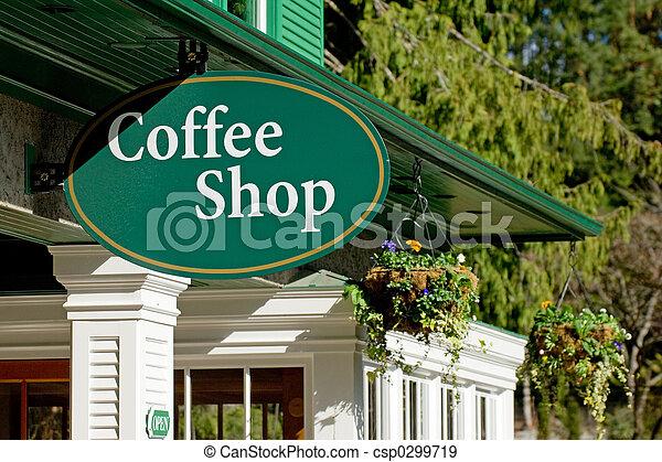 店, コーヒー - csp0299719
