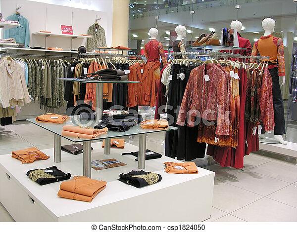 店, 衣服 - csp1824050
