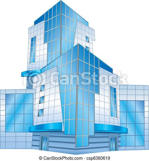 建物, オフィス - csp6360619