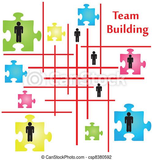 建物, チーム - csp8380592
