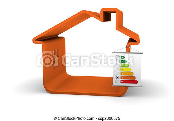 建物, パフォーマンス, エネルギー, 分類, f - csp2008575