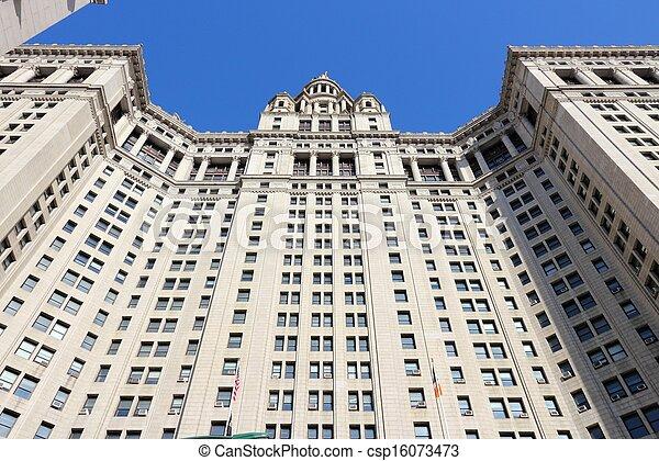 建物, マンハッタン, 市の - csp16073473