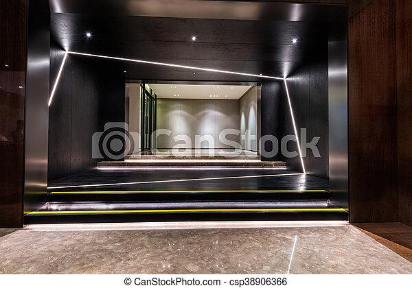 建物, 入口, ロビー, 区域 - csp38906366