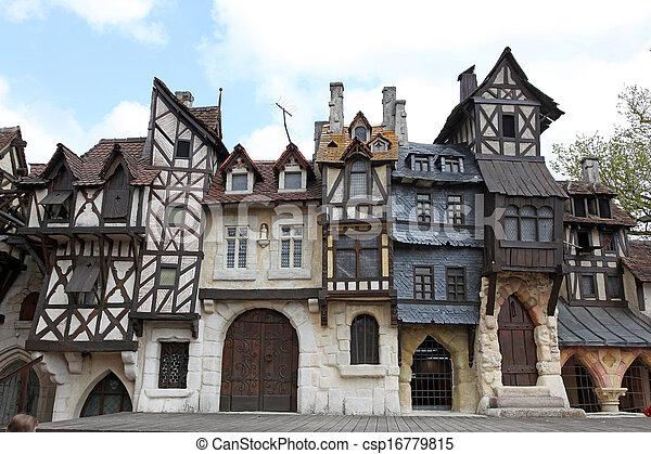 建物, 古い, ヨーロッパ - csp16779815