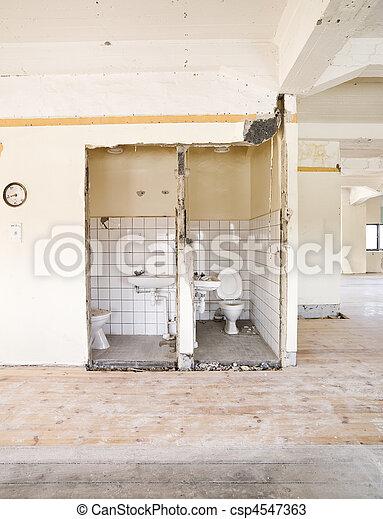 建物, 台無しにされる - csp4547363