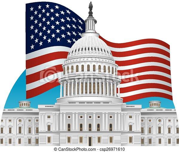 建物, 国会議事堂 - csp26971610